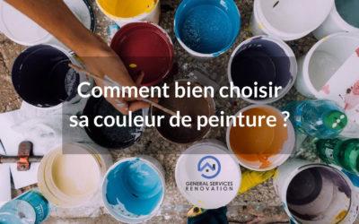Comment bien choisir sa couleur de peinture ?