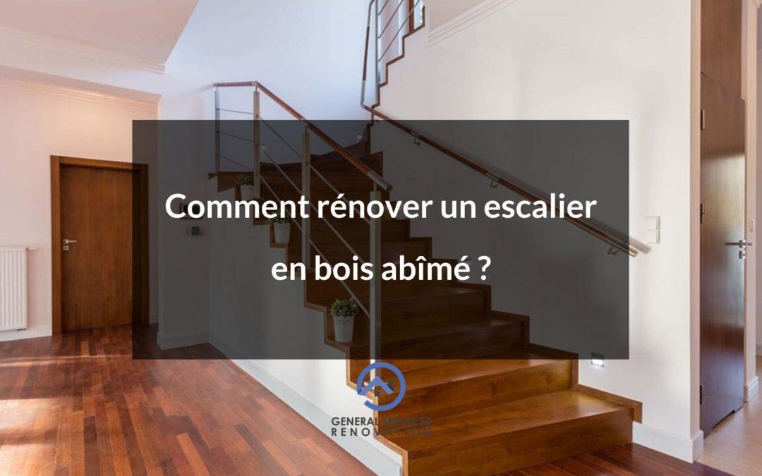 Comment rénover un escalier en bois abîmé?