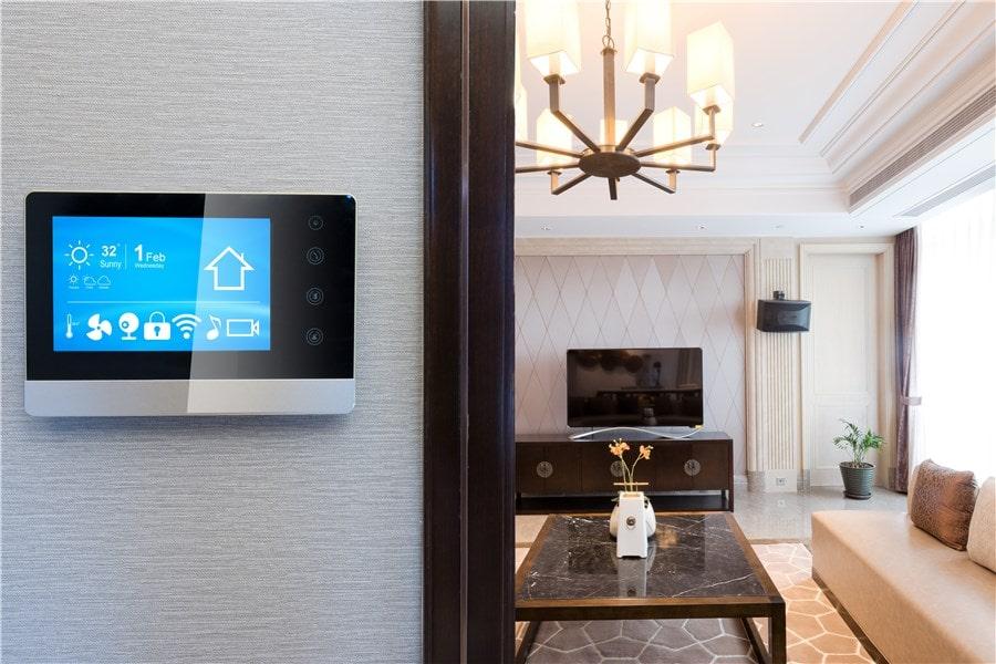 Image maison écologique smart thermostat par General Services Renovation
