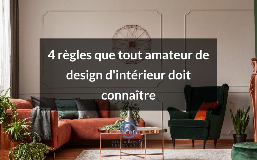 4 règles de couleur que tout amateur de design d'intérieur doit connaître